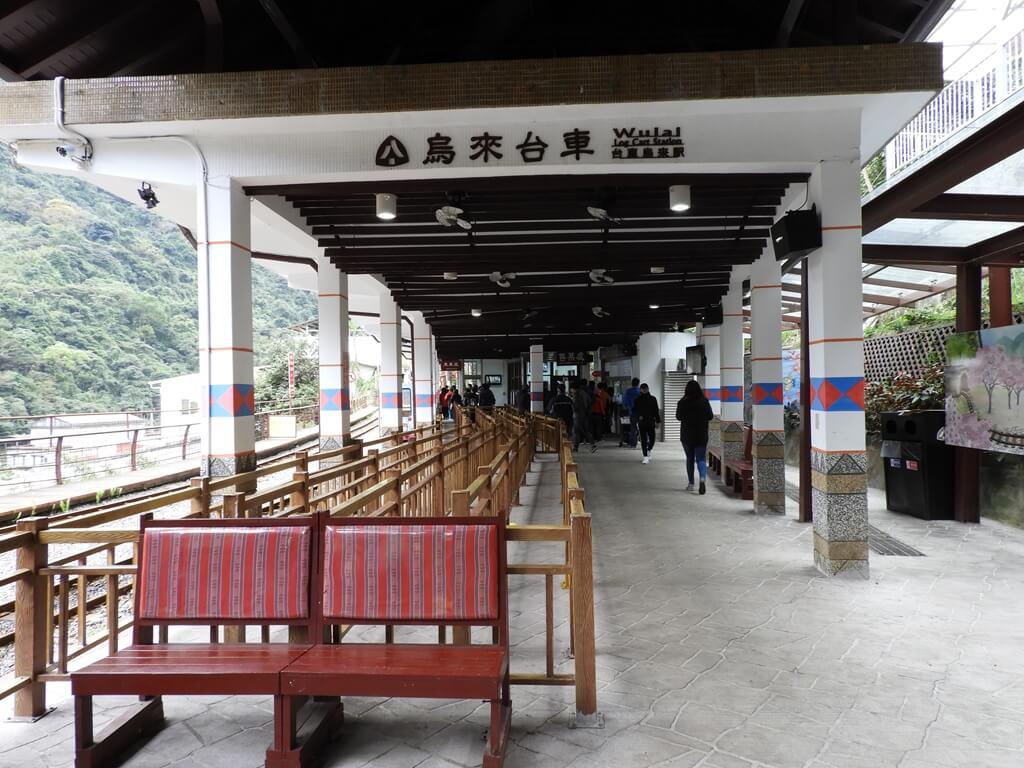 烏來台車的圖片:烏來台車站的站內空間