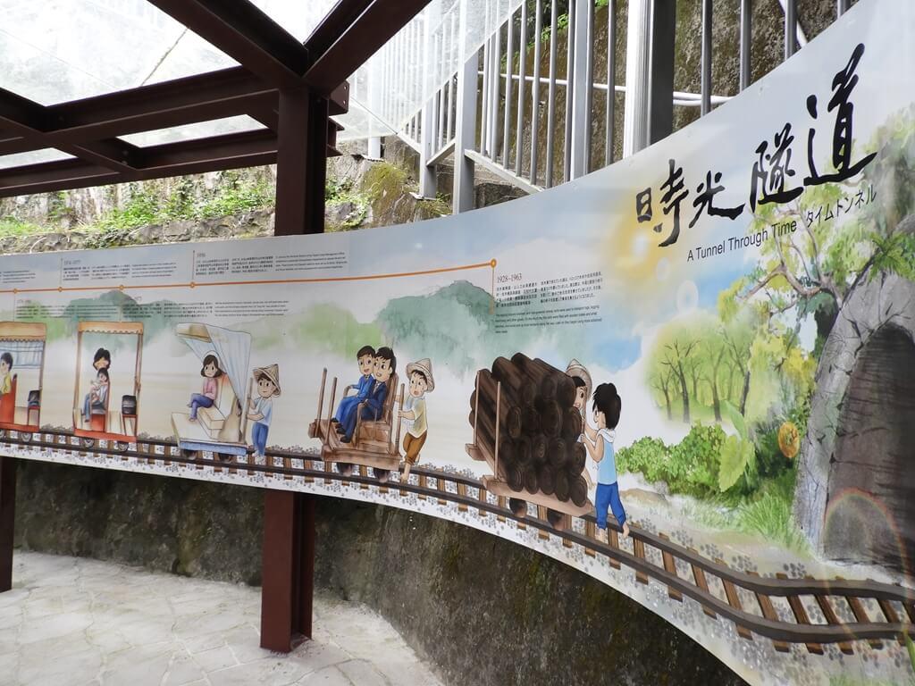 烏來台車的圖片:烏來台車的時光隧道