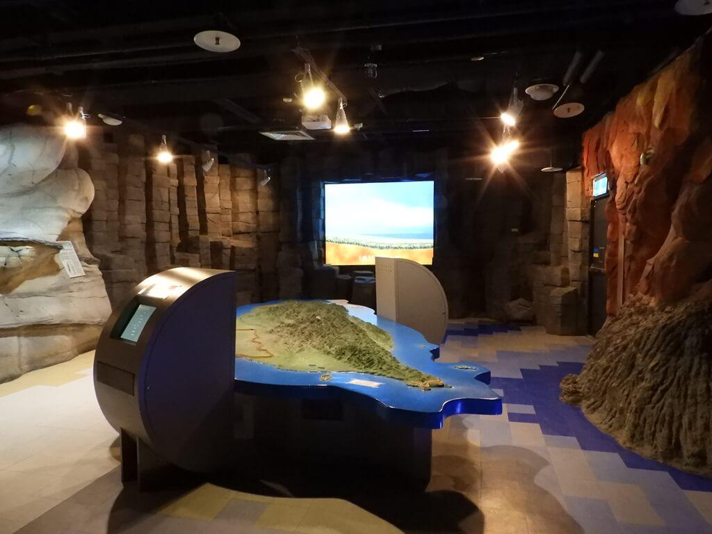 國立臺灣科學教育館的圖片:台灣的地質與地形