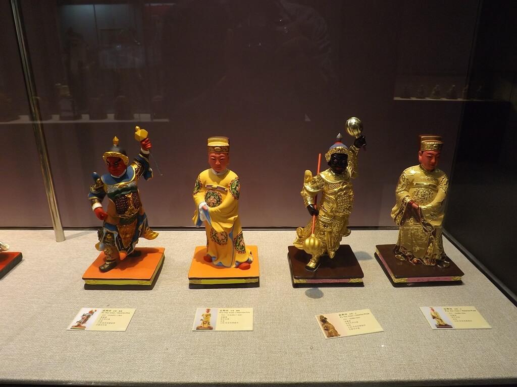 桃園市土地公文化館的圖片:兩尊文判官及兩尊武判官(123659329)