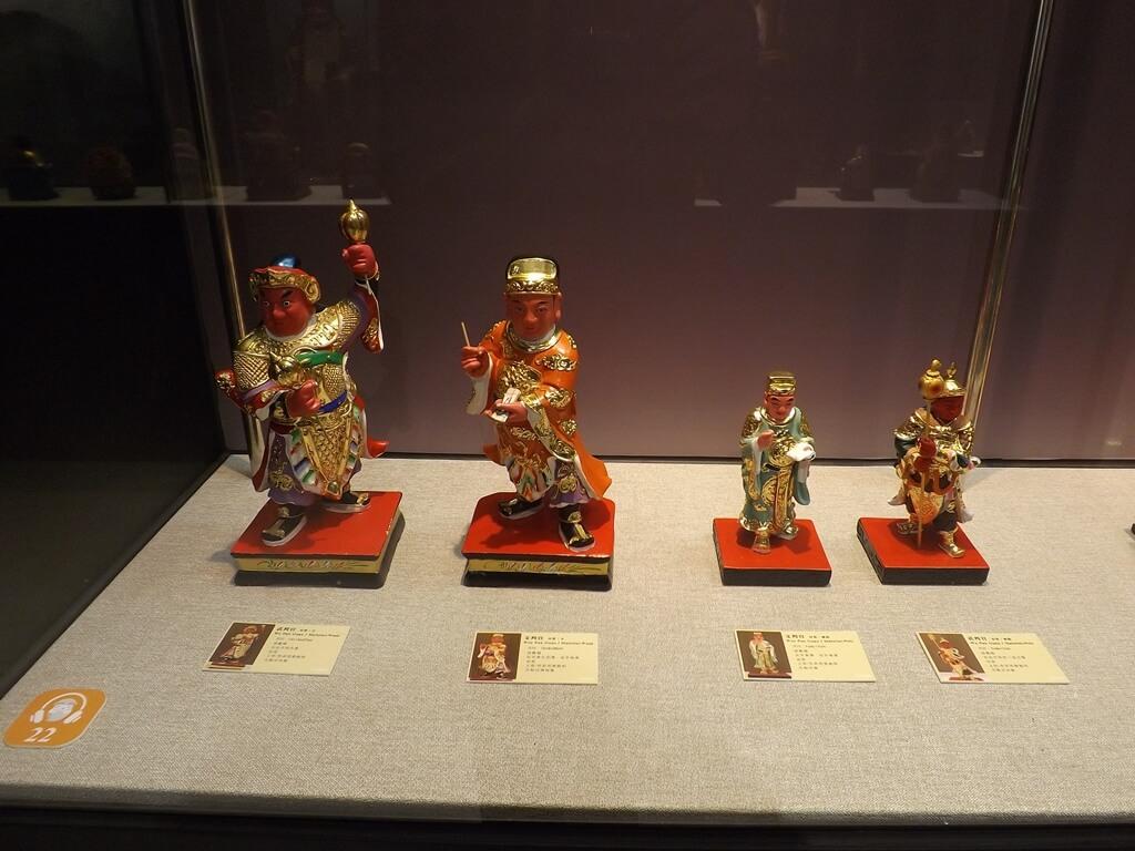 桃園市土地公文化館的圖片:兩尊文判官及兩尊武判官(123659330)