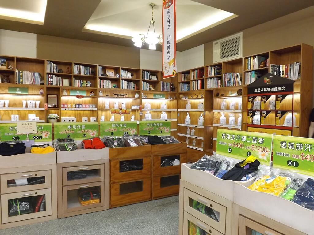 雅聞魅力博覽館的圖片:刷毛外套、防風褲、排汗褲 ... 等多項紡織商品