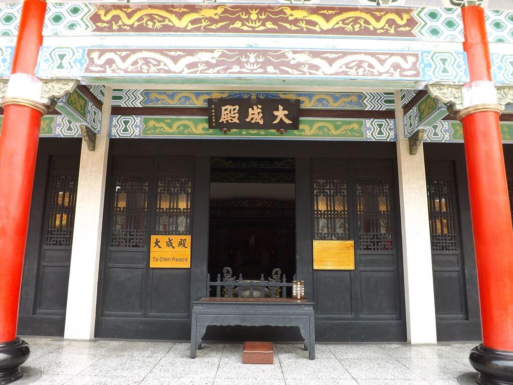 桃園市孔廟的圖片:大成殿前(123659399)