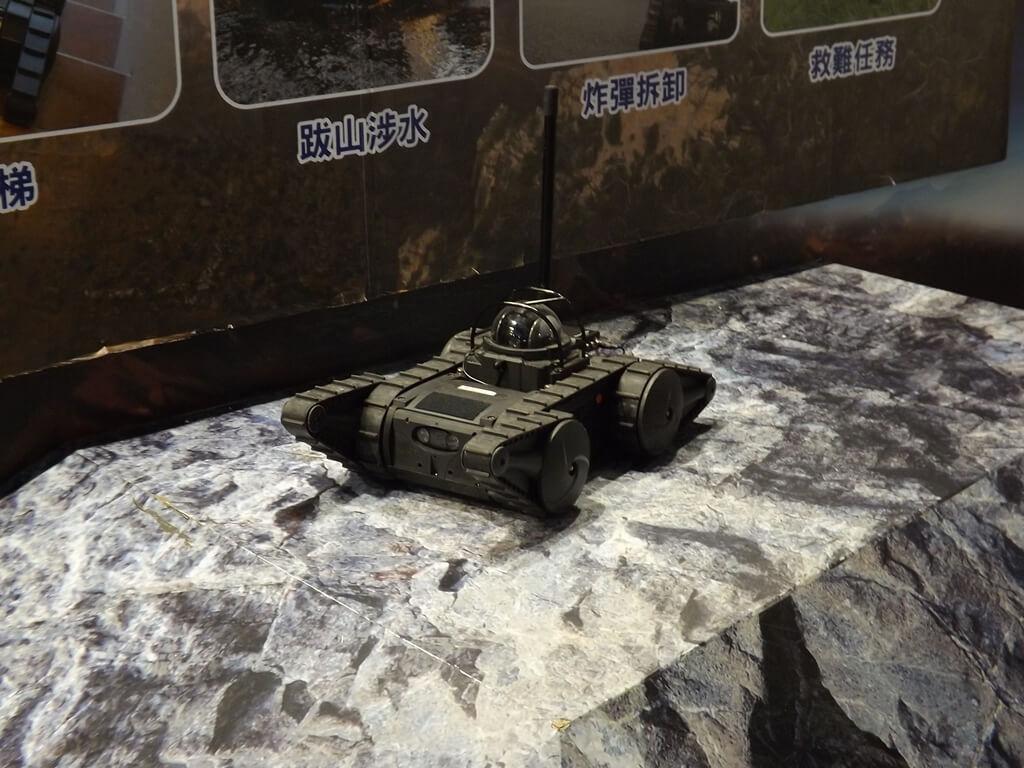 祥儀機器人夢工廠的圖片:履帶車機器人(123659482)