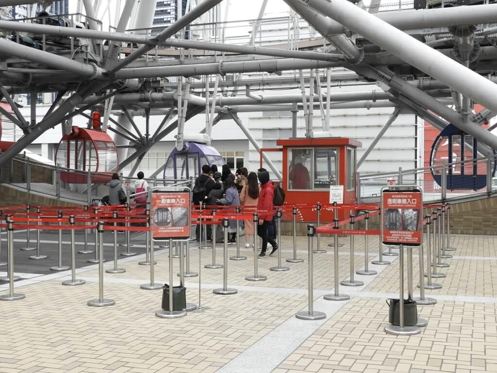 美麗華百樂園的圖片:美麗華摩天輪排隊處