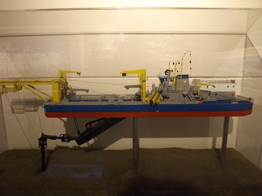 台塑企業文物館的圖片:塑化1號船模型