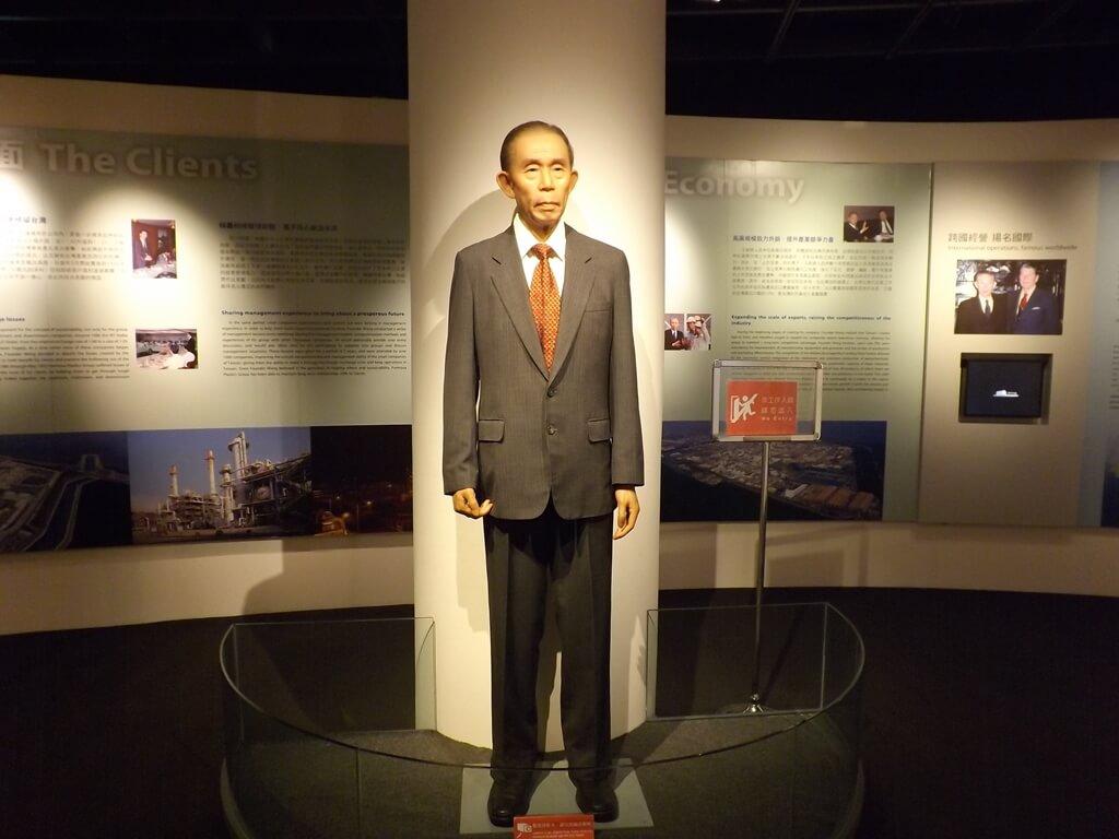 台塑企業文物館的圖片:栩栩如生的王永慶先生蠟像