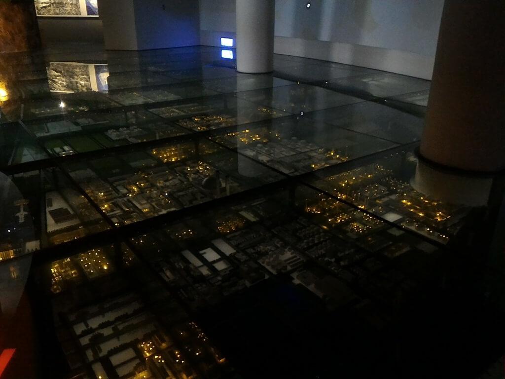 台塑企業文物館的圖片:台塑六輕夜景模型