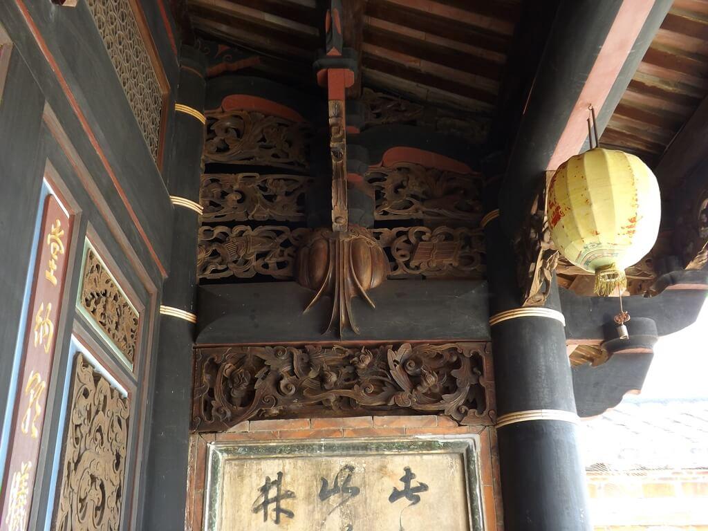 李騰芳古宅的圖片:屋簷下的瓜藤是李騰芳古宅特色