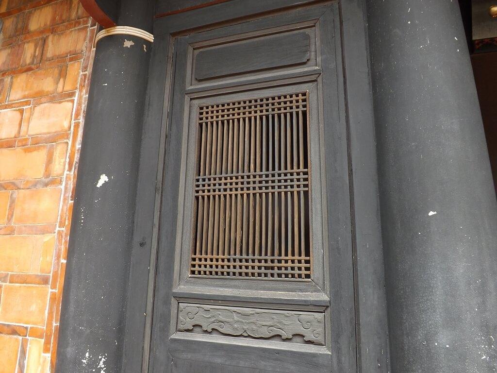 李騰芳古宅的圖片:細格木造窗