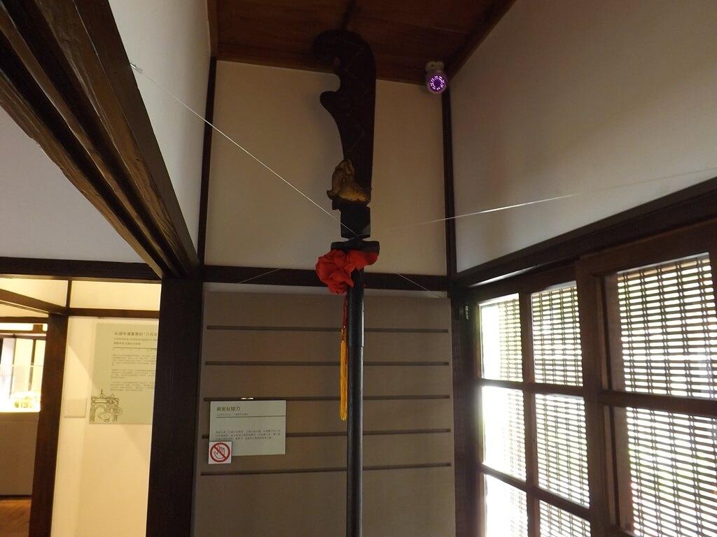 大溪木藝生態博物館的圖片:興安社關刀展示
