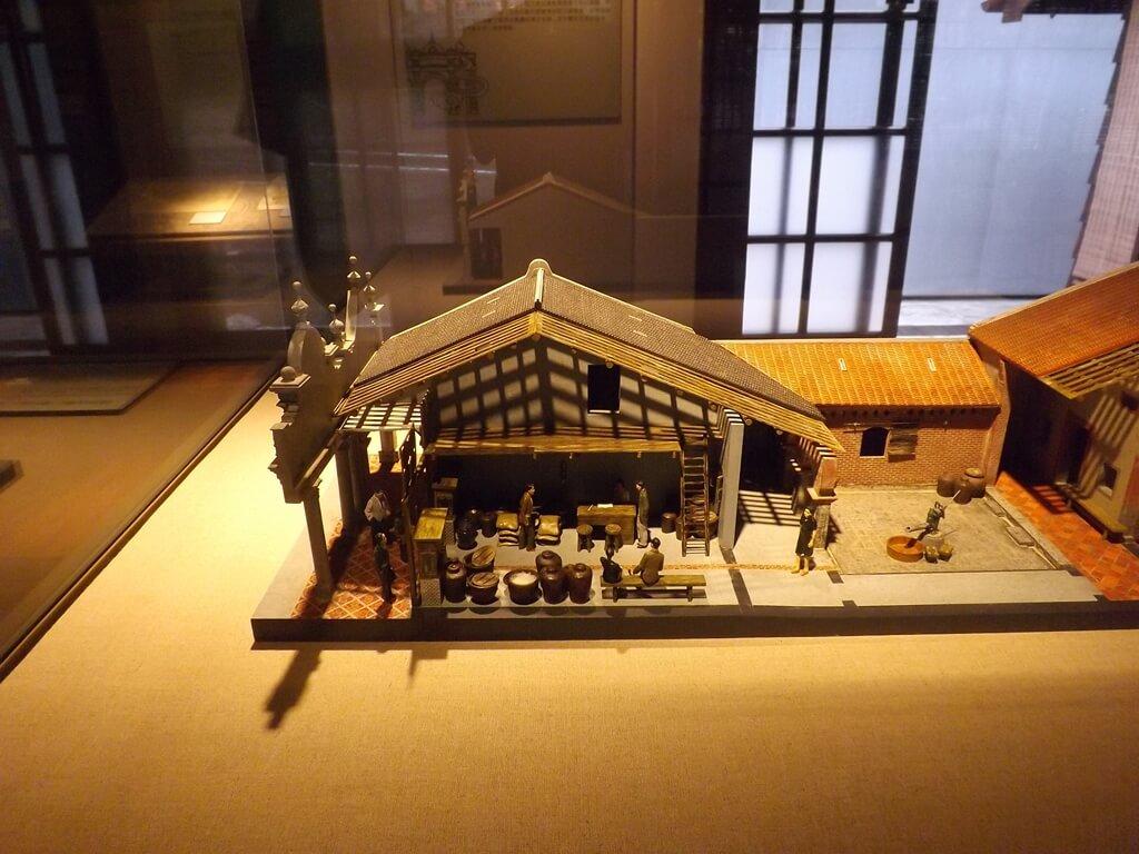 大溪木藝生態博物館的圖片:早年大溪老街的商店模型