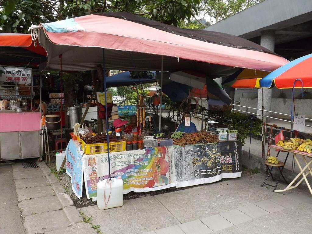 內灣老街的圖片:販售山產的小攤販