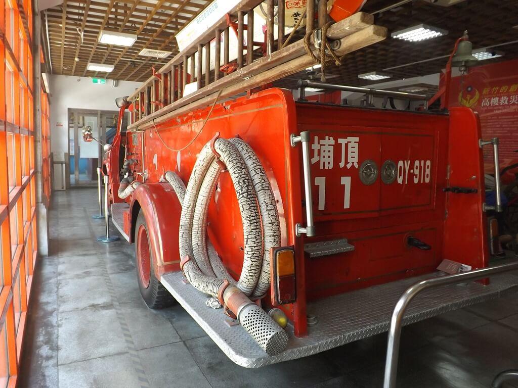新竹市消防博物館的圖片:金德號車尾左後方