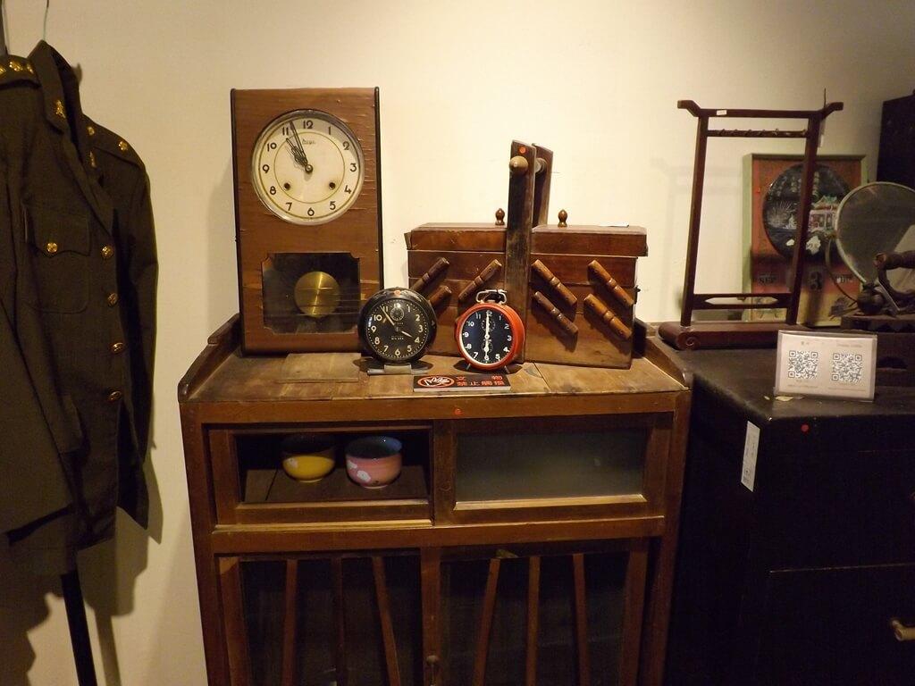 新竹市眷村博物館的圖片:三個時鐘