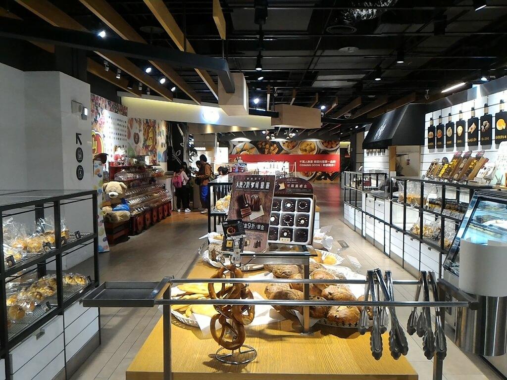 GlobalMall 環球購物中心桃園 A8的圖片:哈肯舖麵包貨架