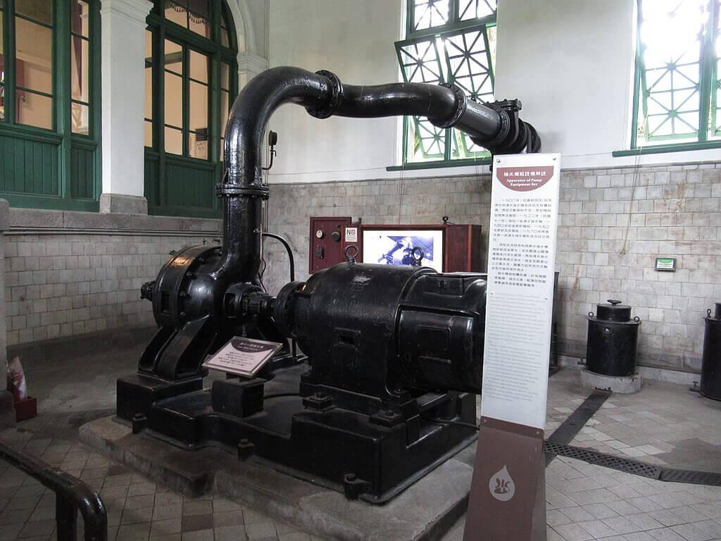 臺北自來水園區(自來水博物館)的圖片:清水一號抽水機