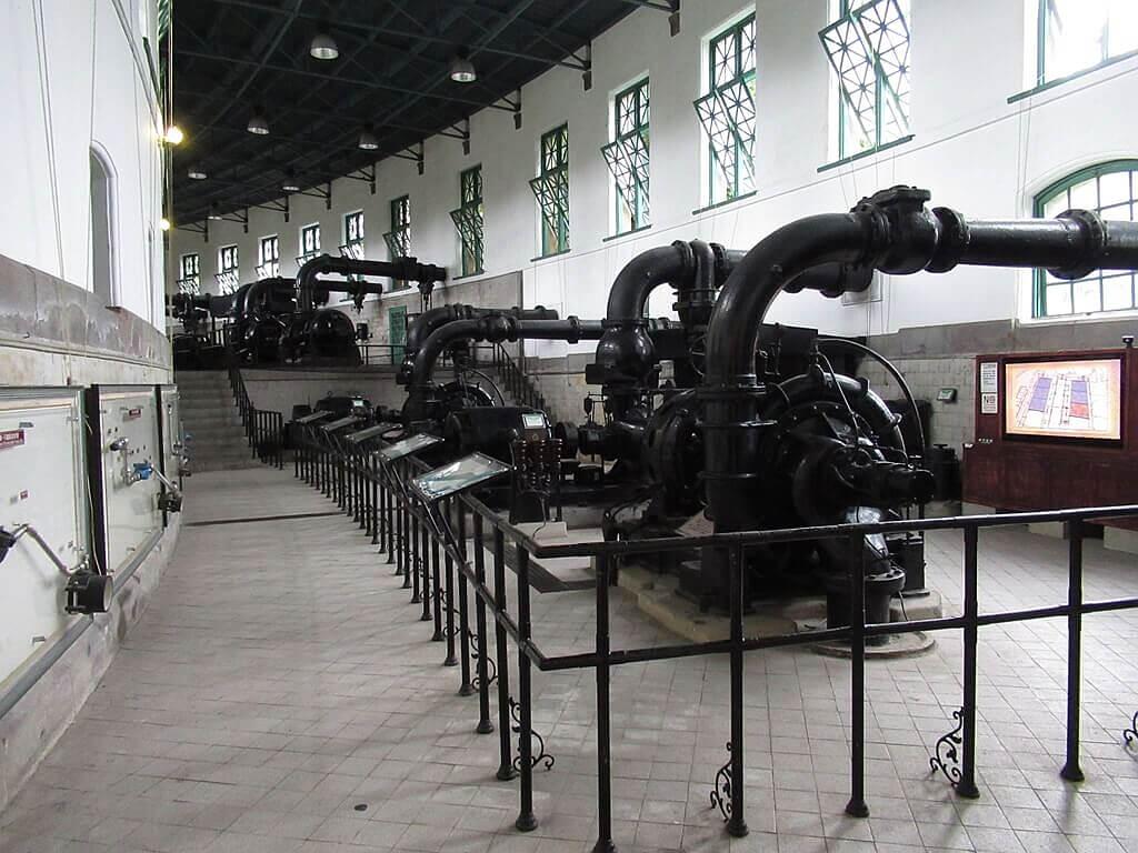 臺北自來水園區(自來水博物館)的圖片:參觀走道(123660444)