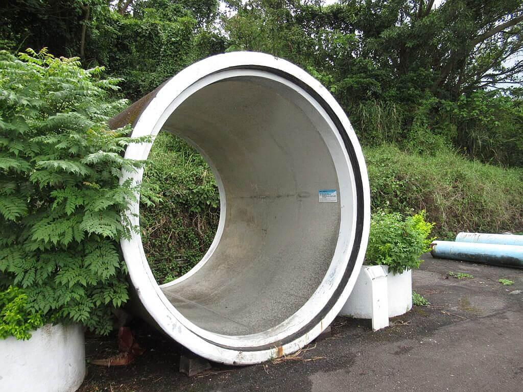 臺北自來水園區(自來水博物館)的圖片:大涵管