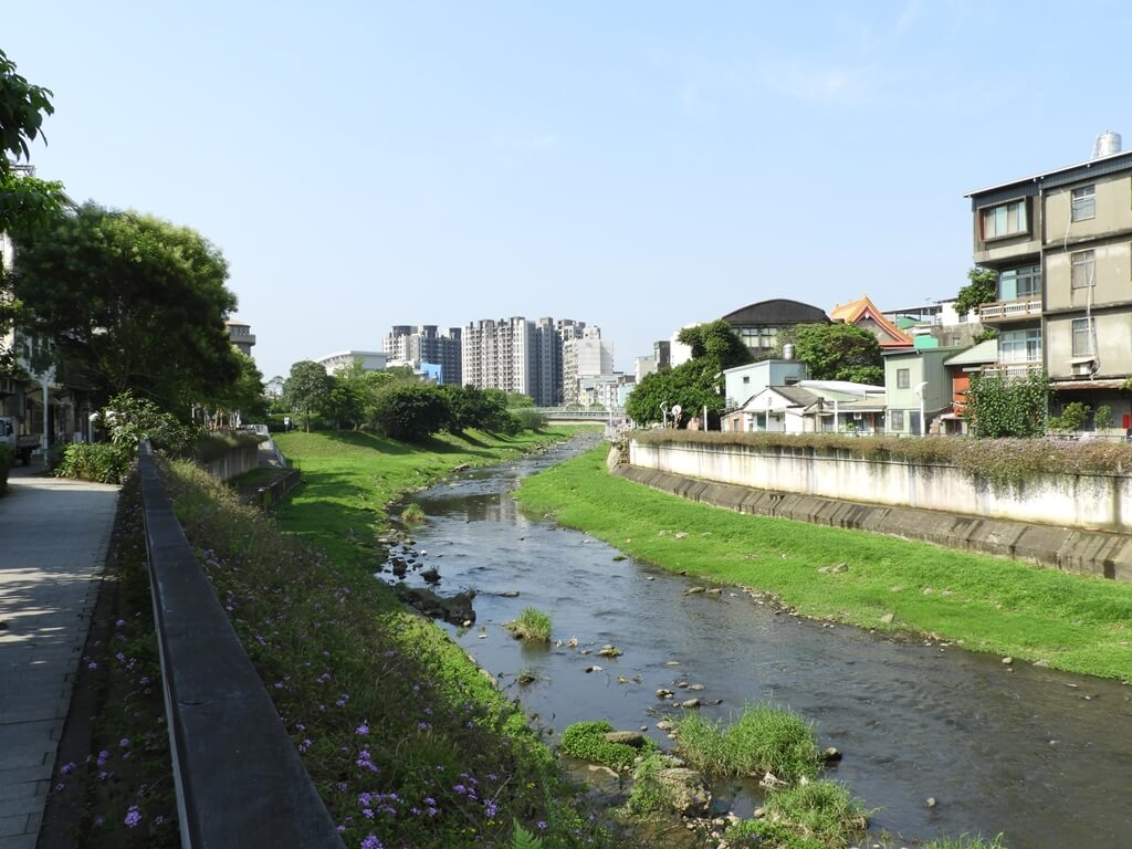 中壢老街溪步道的圖片:整治成功的老街溪