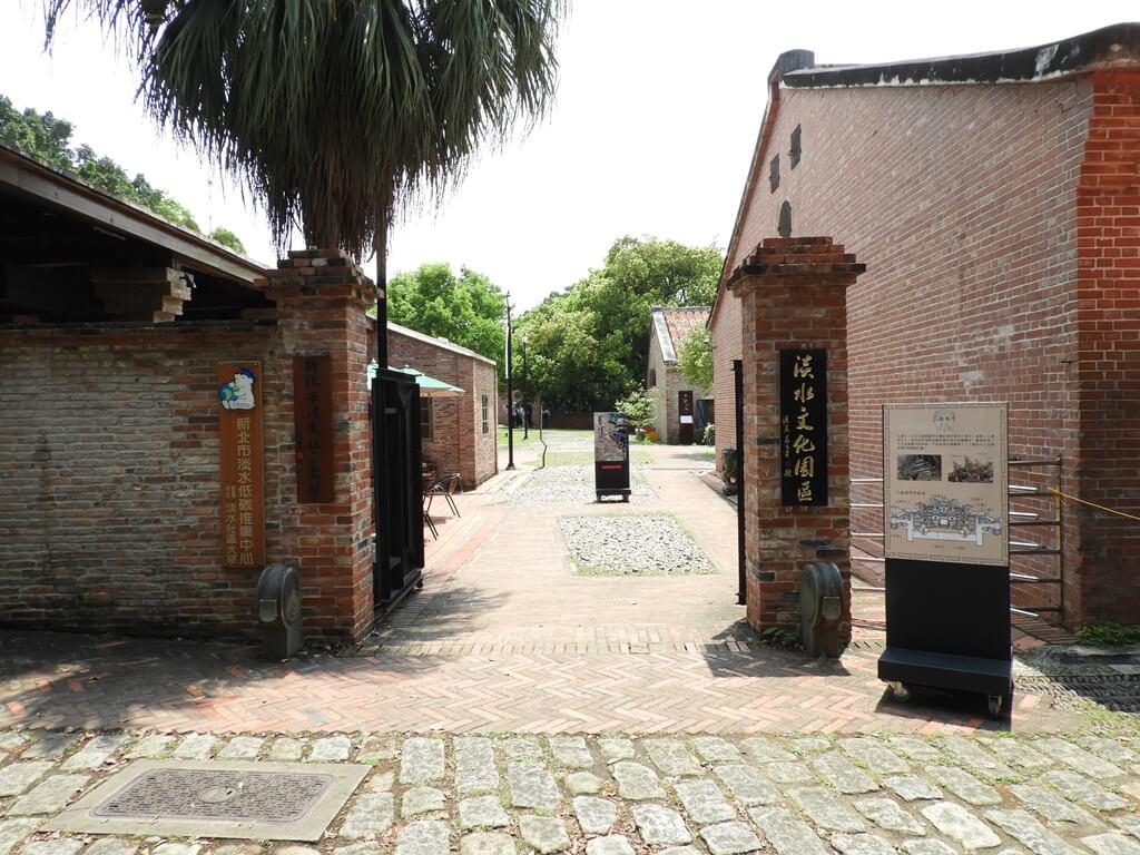 淡水文化園區 - 殼牌倉庫的圖片:前往倉庫路徑
