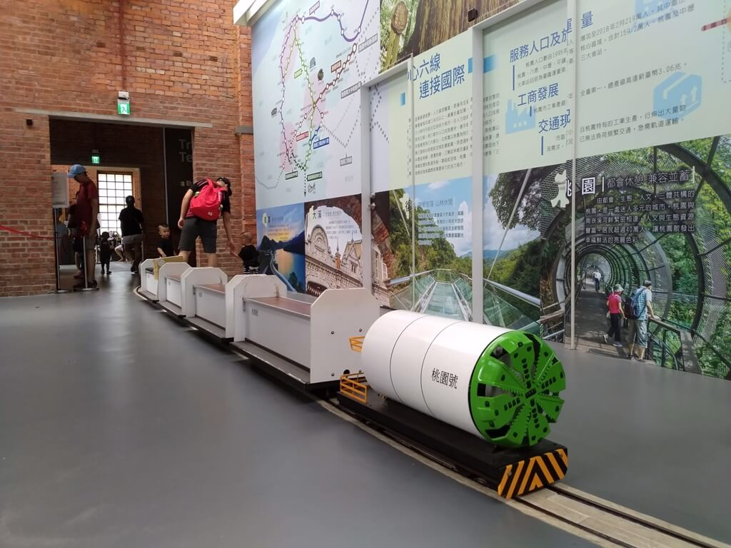 桃園軌道願景館的圖片:潛盾機小火車